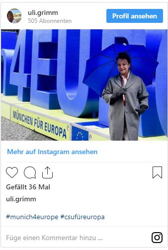 Ulrike Grimm Instagram